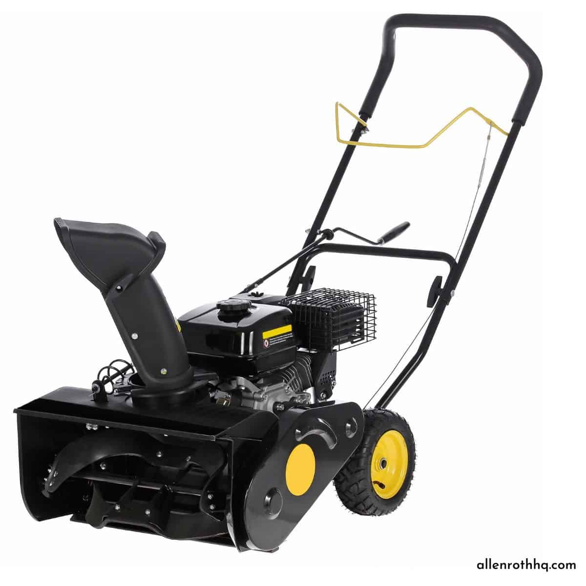 When do snow blowers go on sale