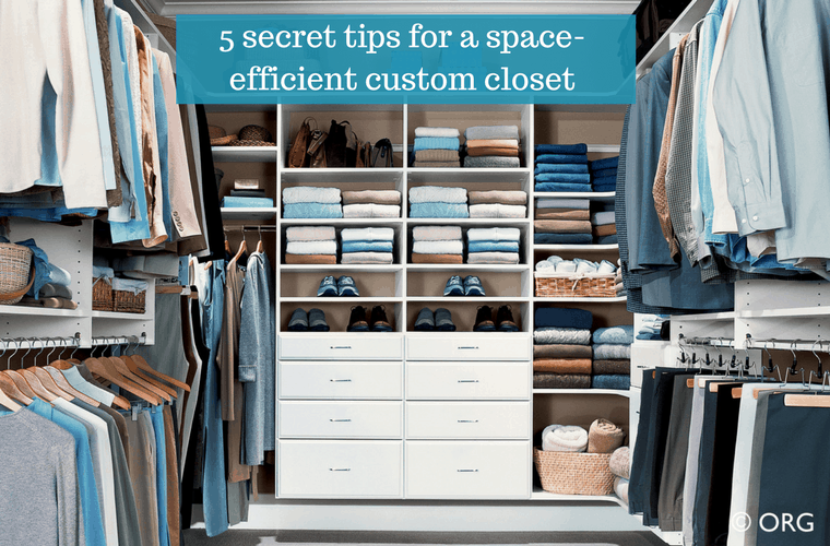 Allen Roth Closet: Space Efficient Custom Closet