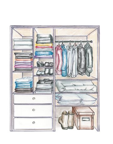 Allen Roth Closet: Shelf-Esteem