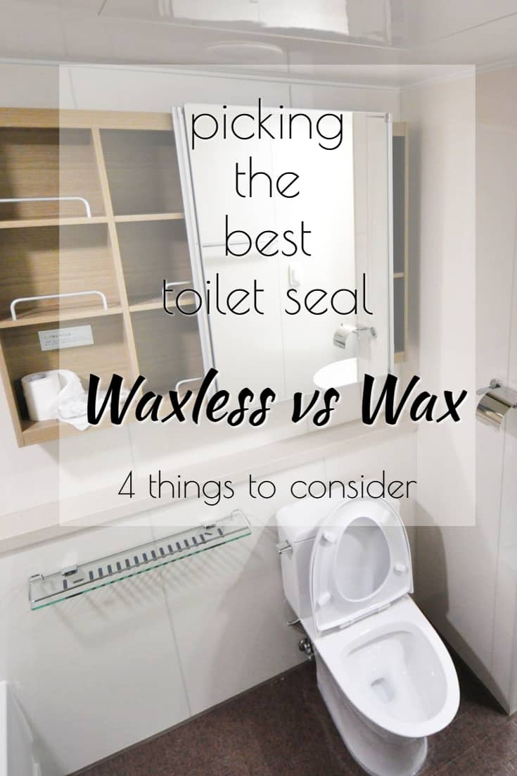 Picking the Best Toilet Seal Waxless vs Wax pin