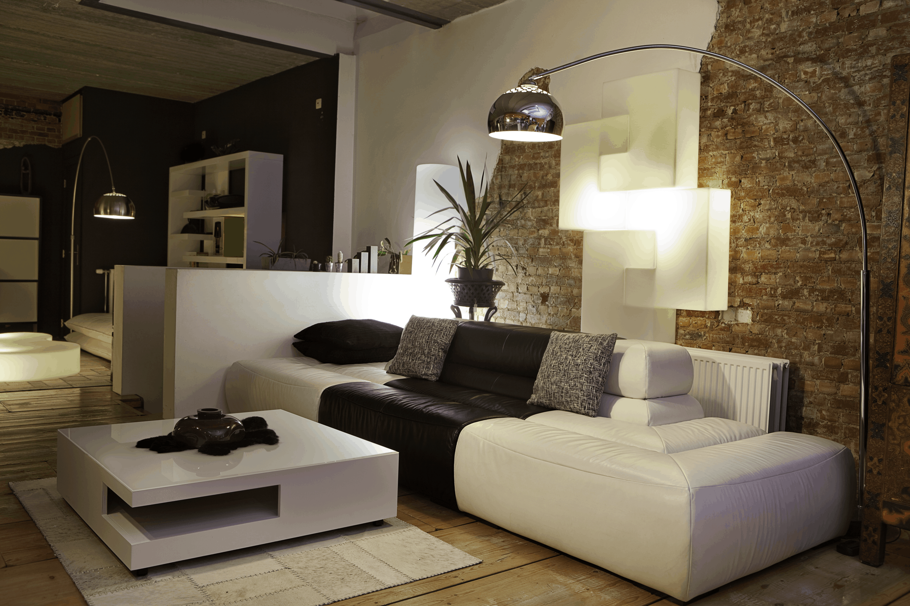 If your living room does not have an overhead lighting, use a big lamp #lightIdeas #homelighting #lightingdesign #architecturallighting #lightfixture #lightFixtures #lighting #lights