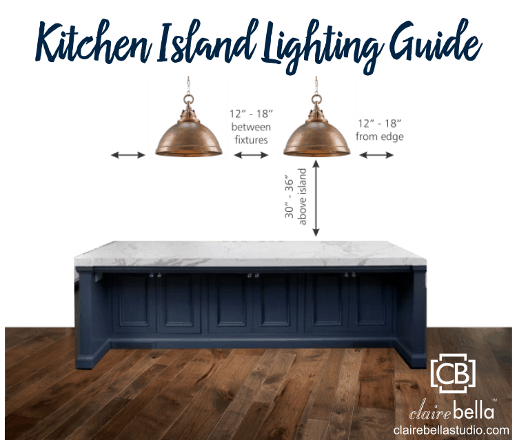 How Far Apart Should Pendant Lights Be Over An Island In The Kitchen? A Guide to Spacing Pendant Lights Over Kitchen Island: Pendant Light Distance