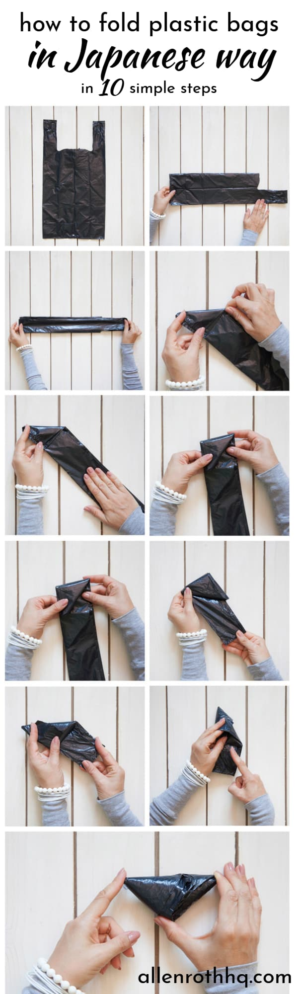 fold bags japanese way