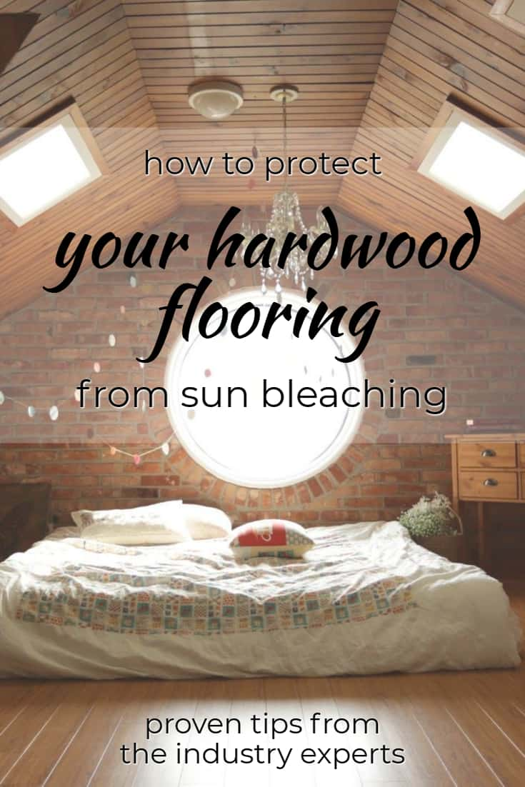 Protecting Your Hardwood Floors from Sun Bleaching pin