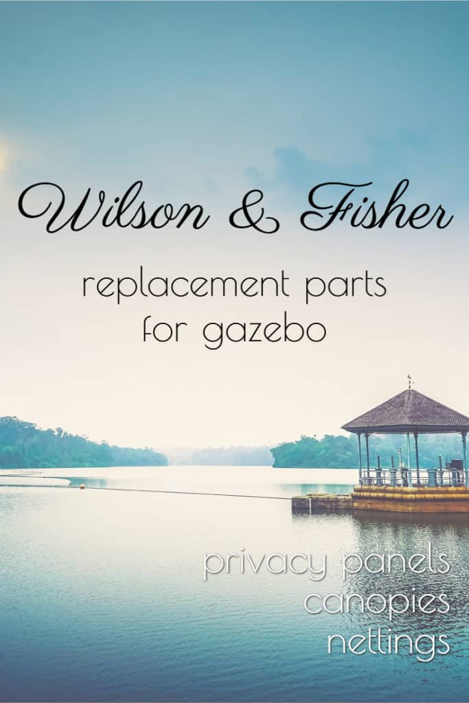 Wilson and Fisher gazebo replacement parts #gazebo #wilsonAndFisher #backyard #replacement