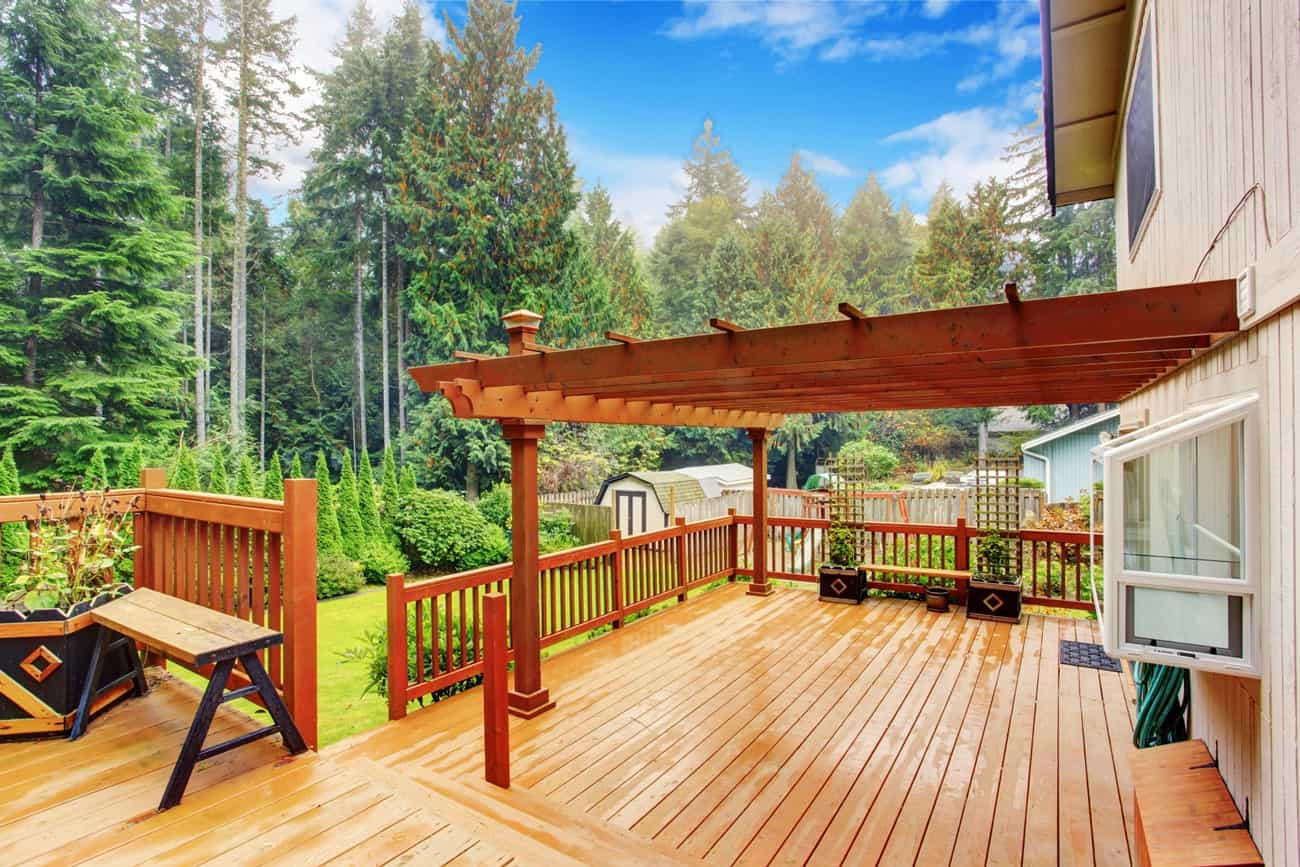 What is the purpose of a Pergola - Pergola on a patio