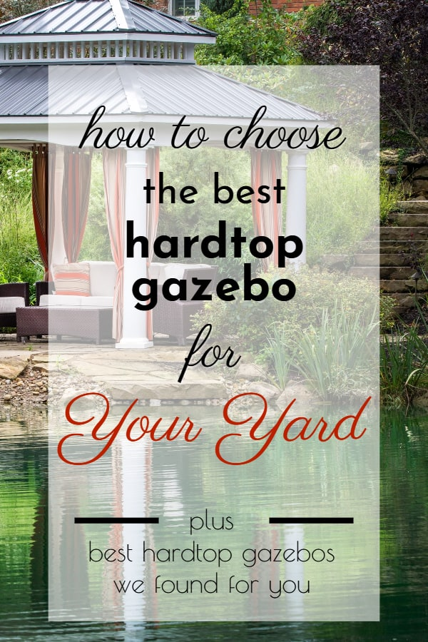 best hardtop gazebo review