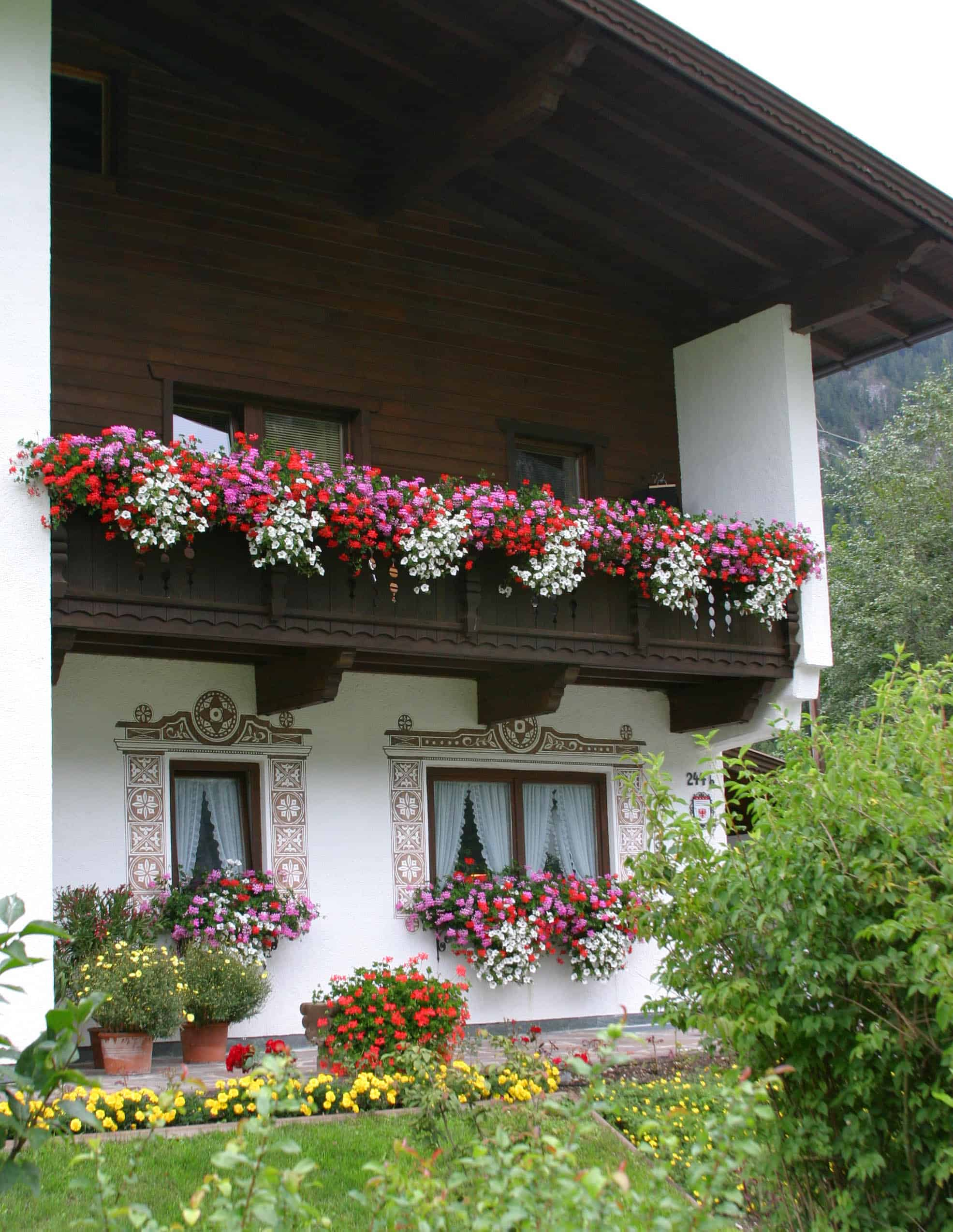 Curb appeal: Add flower boxes to windows and balconies
