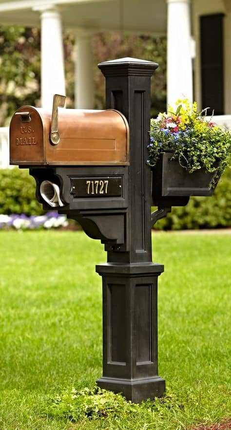 Curb appeal: Invest in an upscale mailbox