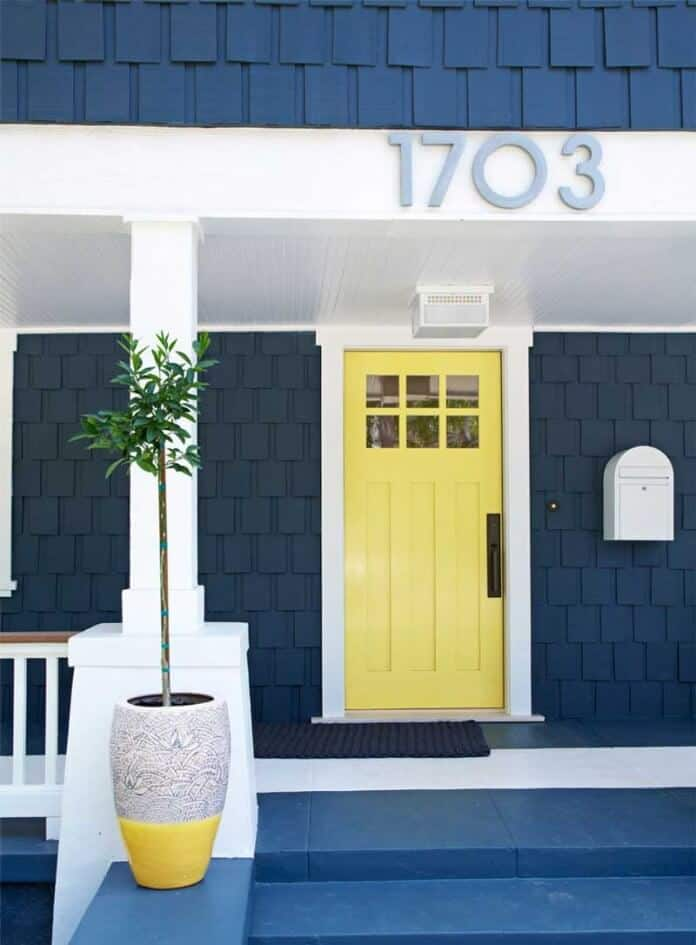 Curb appeal: Paint your front door