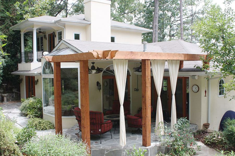 Curb appeal: Add a pergola to your Outdoor Space