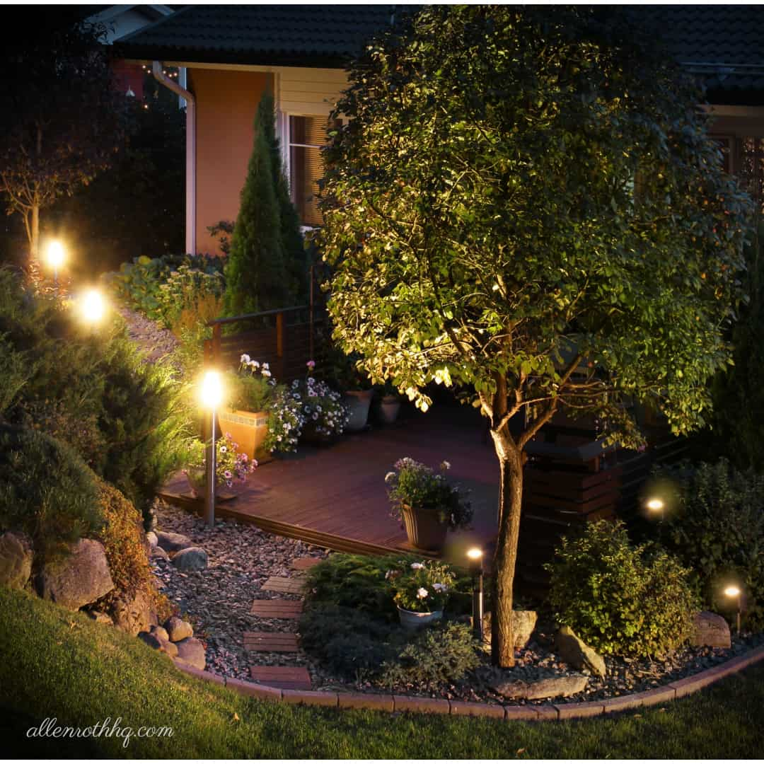 Curb appeal: Take care of your outdoor lighting #curbAppealProjects #curbAppeal  #backyardLighting #outdoorLights #pathlights #backyarddesign #lighting #lights #OutdoorLighting