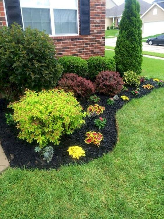 Add mulch to your flower beds, bushes, and trees for a neat look. Did you know you can get mulch for free?