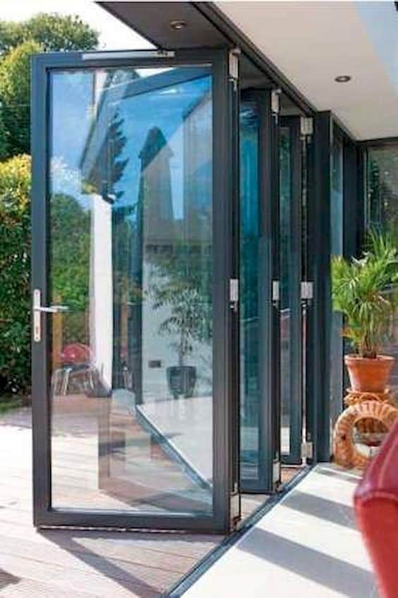 glass sliding door as a patio enclosure  #patioideas #patiodeck #outdoorSpace #outdoordecor #patiodecor #patio #outdoorliving #outdoorFurniture#pavillion #pavilion