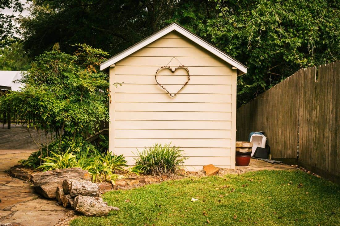 Add a shed to your backyard to increase the value of your house #shed #backyard #backyardGarden #backyardLandscaping #backyardLandscapingIdeas #landscaping #landscape #pool #curbAppealProjects #curbAppeal
