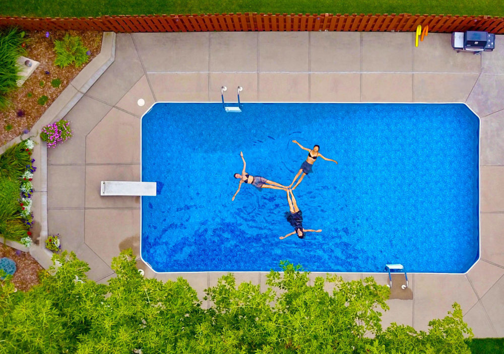 Install an in-ground pool to attract house buyers who's looking for a luxury house #pool #backyard #backyardGarden #backyardLandscaping #backyardLandscapingIdeas #landscaping #landscape #pool #curbAppealProjects #curbAppeal