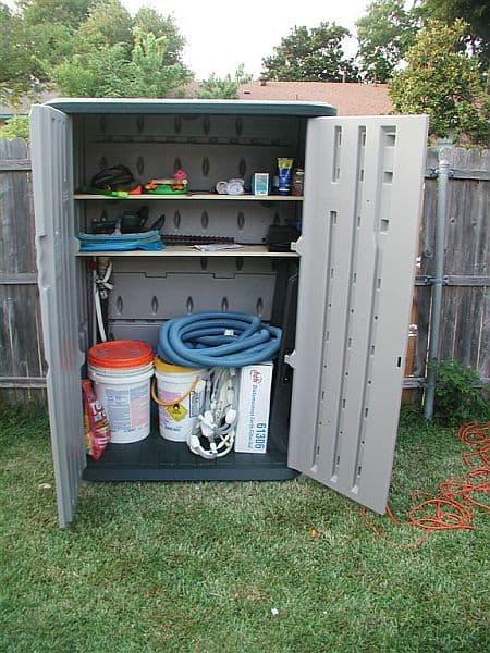 Outdoor Cabinet for Tools