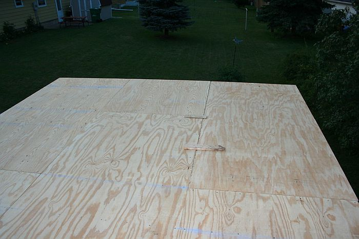 Plywood Flooring for Shed