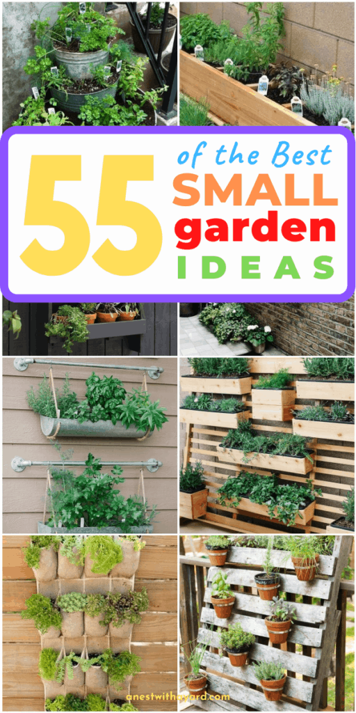 55 Of The Best Small Garden Ideas In Pictures  #smallGarden #SmallGardenDesign #smallyardlandscaping #gardenIdeas #backyardLandscaping #backyardLandscapingIdeas #landscaping