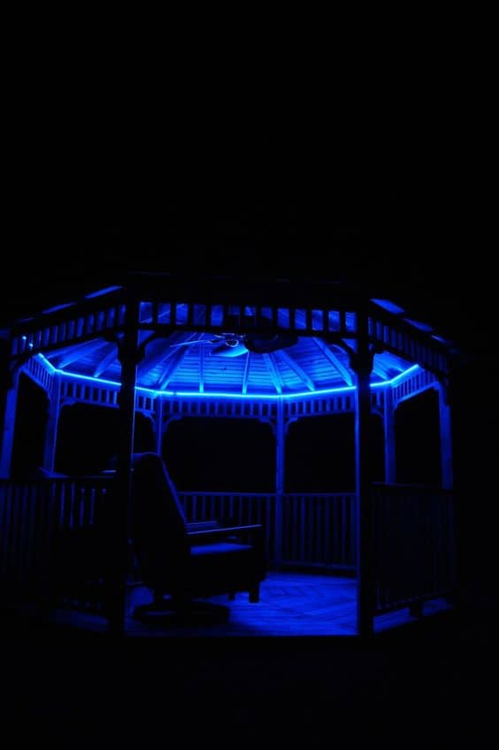 #gazebo #gazeboideas #backyardGazebo #backyardLandscaping #backyardLandscapingIdeas #landscaping #landscape #lighting #lights #backyardLighting #outdoorLights