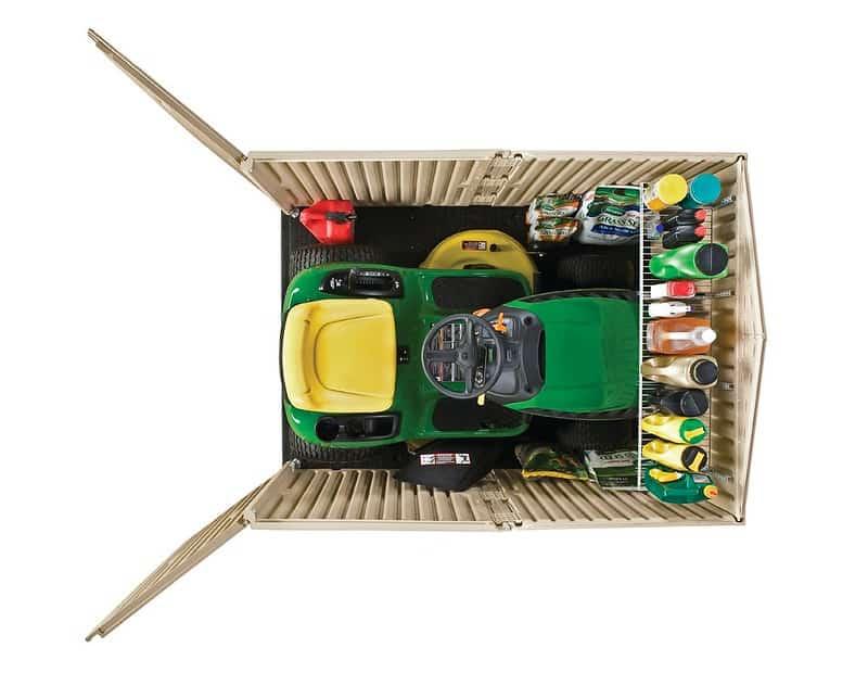 Storage for Garden Tractor