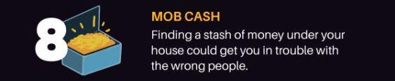 A stash of cash
