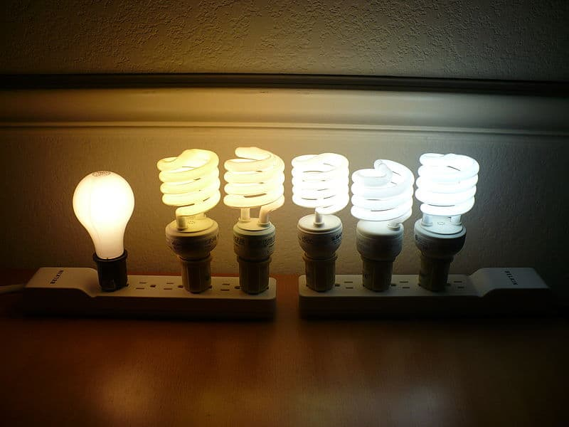 Colored LED light bulbs