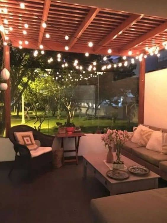 #ropeLights #stringLights #gazebo #gazeboideas #backyardGazebo #backyardLandscaping #backyardLandscapingIdeas #landscaping #landscape #lighting #lights #backyardLighting #outdoorLights