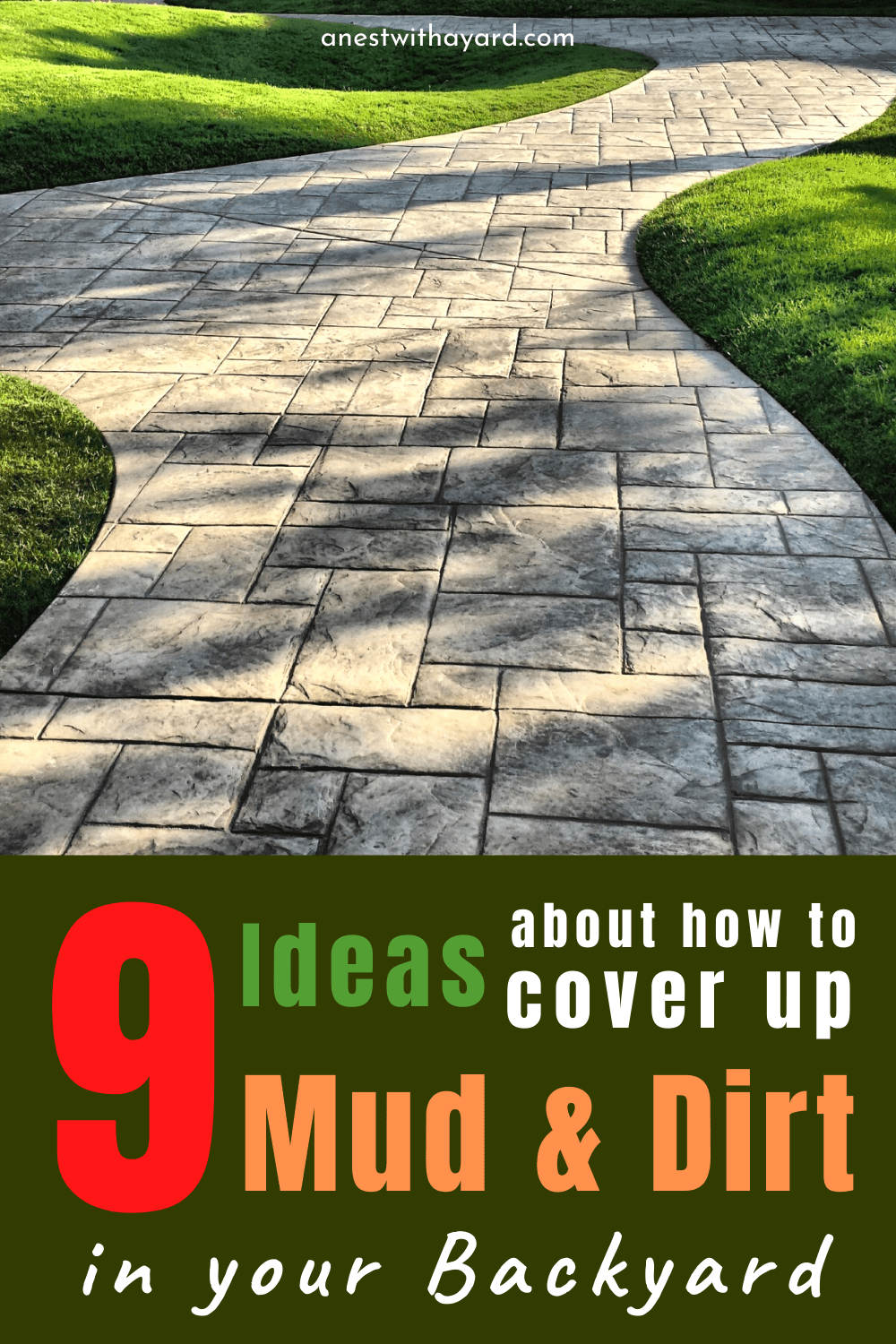 How To Cover Up Mud In Backyard In 2020 - A Nest With A Yard
