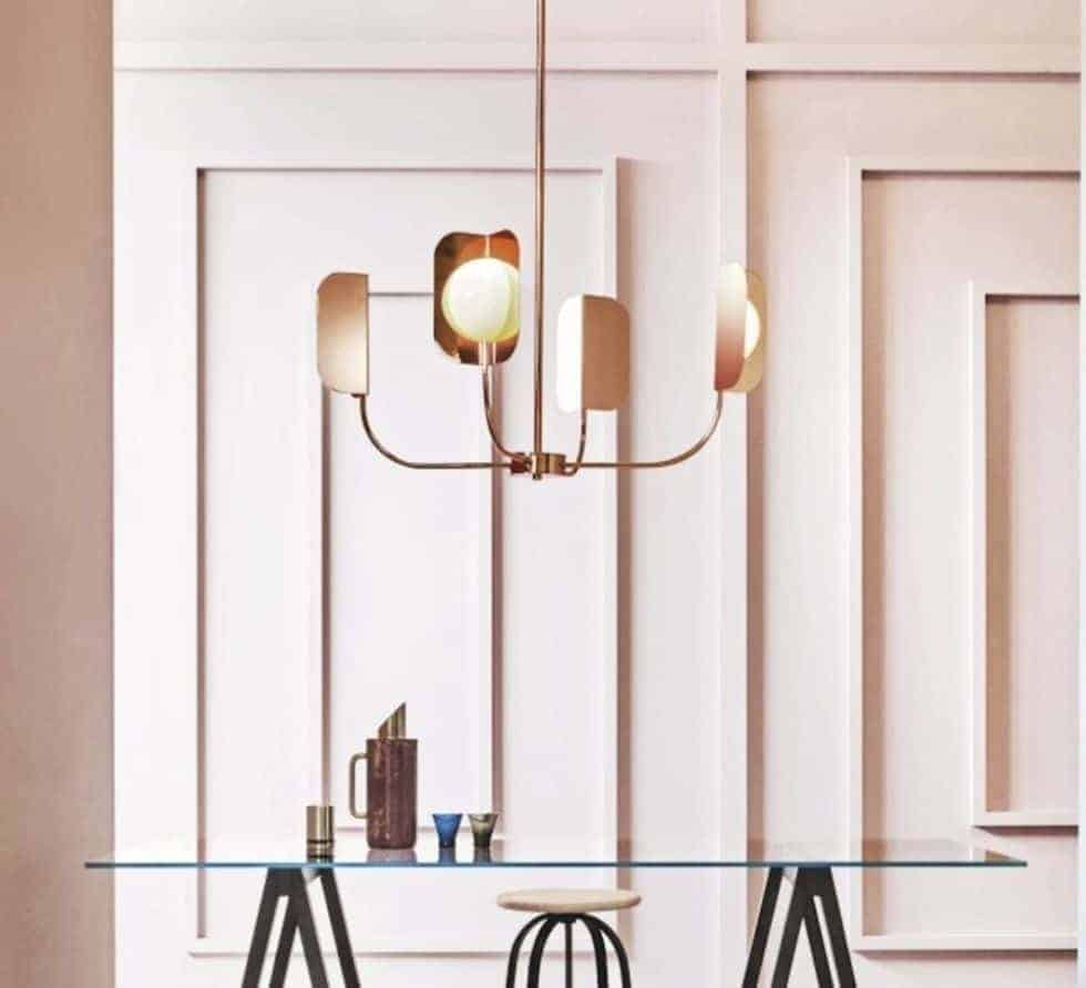 3-light chandelier