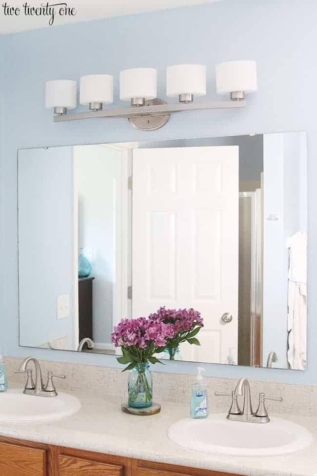 Allen Roth Bathroom Lighting by twotwentyone