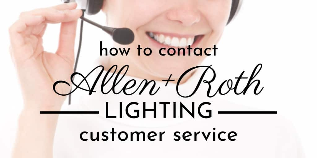 Allen and Roth Lighting Customer Service