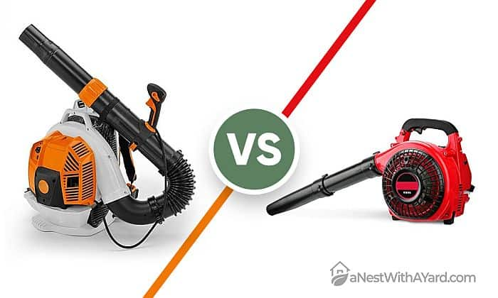Backpack Leaf Blower Vs Handheld: Which One Is Better For Your Yard?