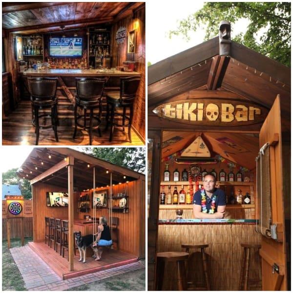Outdoor Bar Man Cave
