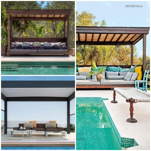 Poolside Pavillion Ideas- Cozy Pavillion Ideas