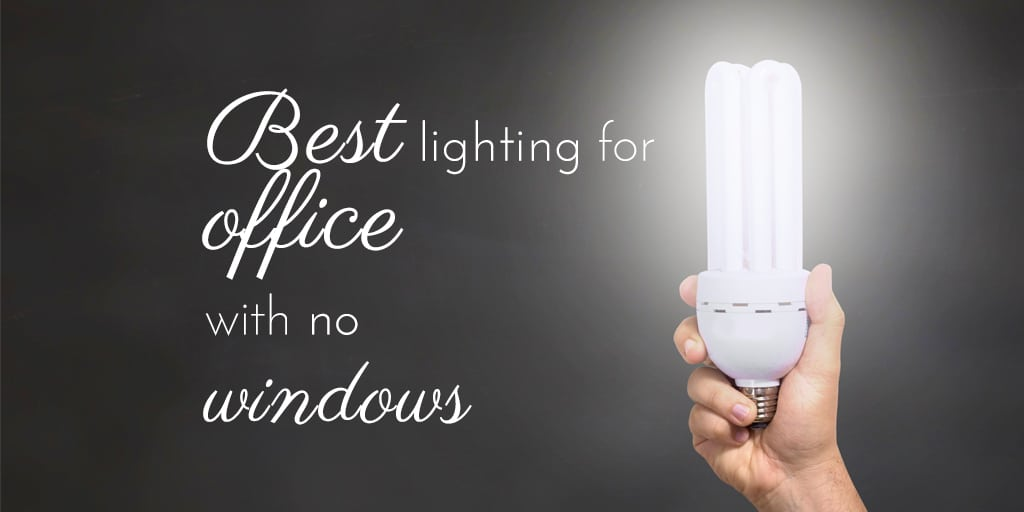 how to choose Best lighting for office with no windows