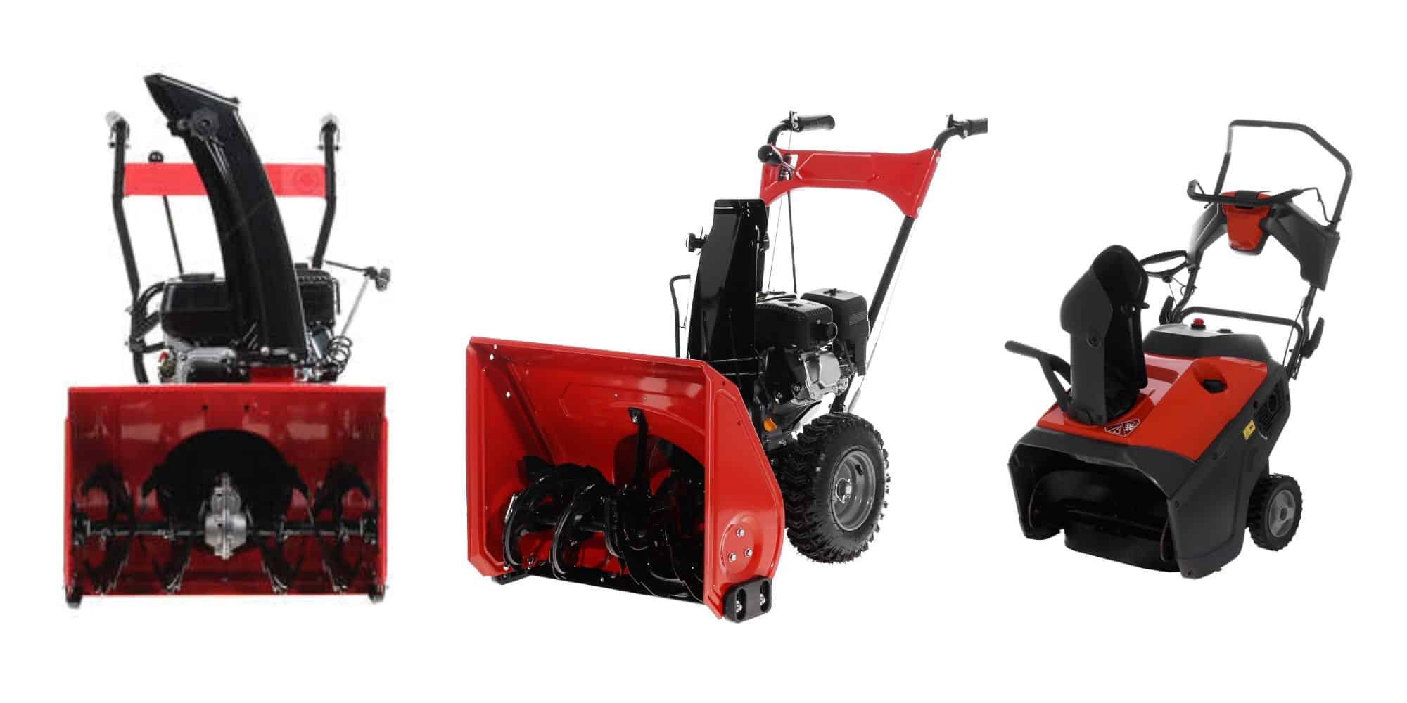 Best snow blower for wet snow in your backyard: 3-satde snow bloser, 2-stage snow blower, single-stage snow blower