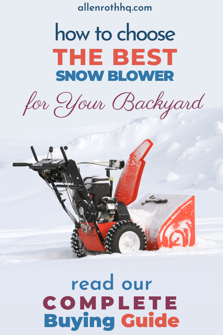 Best snow blower pin