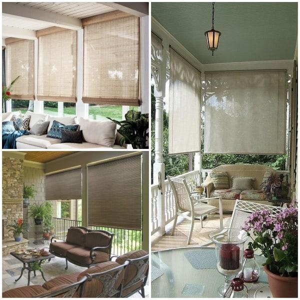 Blind Curtains