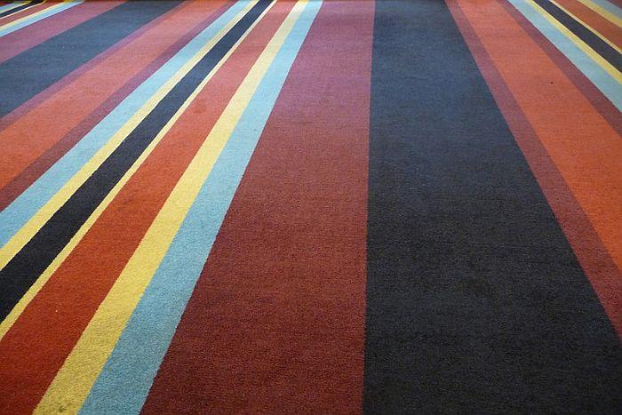 colorful carpet flooring