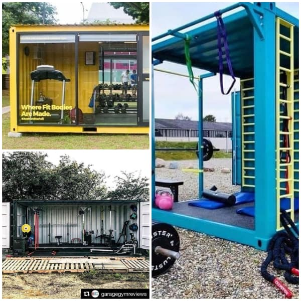 Container Gym Man Cave