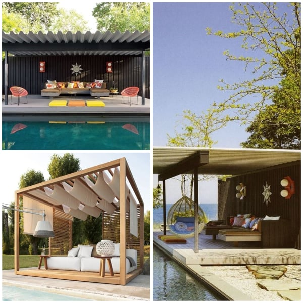 Poolside Pavillion Ideas- Zen Paviillion