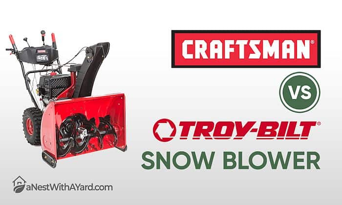 Craftsman Vs Troy Bilt Snow Blower: How Do These Brands Differ?