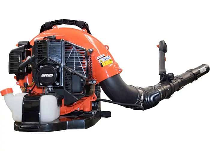 A shot of echo leaf blower from the back