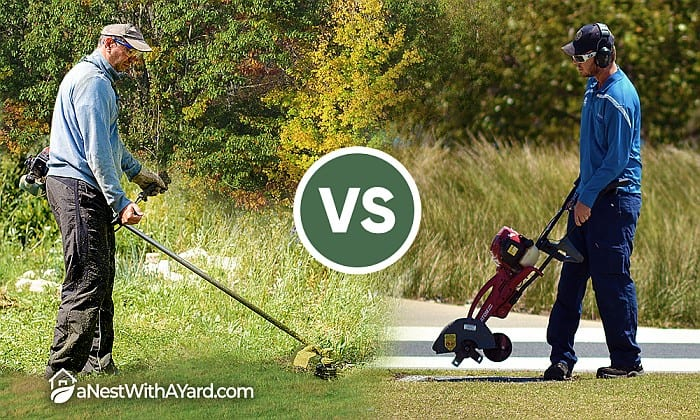 Edger Vs Trimmer: What's The Difference?