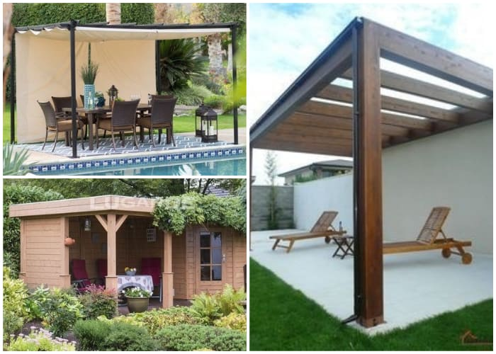 Flat Roof Gazebos