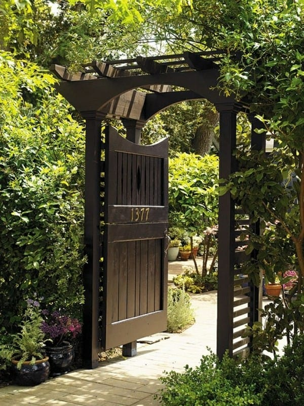 A gorgeous side door