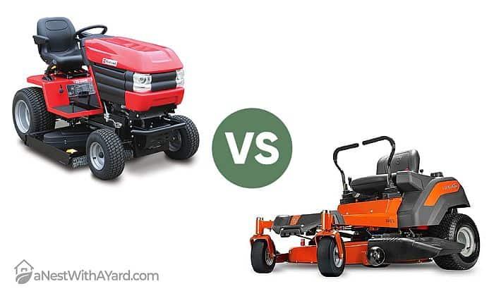 Garden Tractor Vs Lawn Tractor