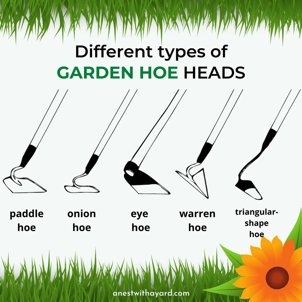 Types of Garden Hoe Heads