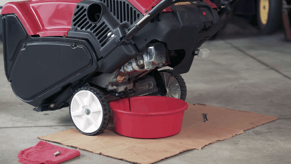 Proper maintenance of your snowblower